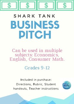 Shark Tank Business Pitch Project