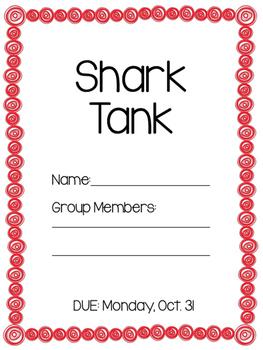 Shark Tank Class project, economics lesson