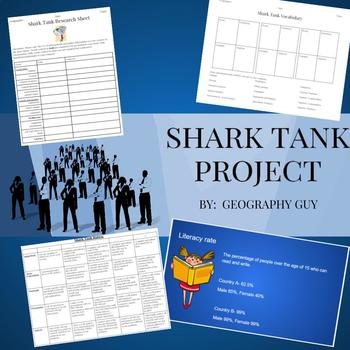 Shark Tank Geography Project