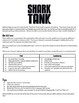 Shark Tank Project - Completely editable!