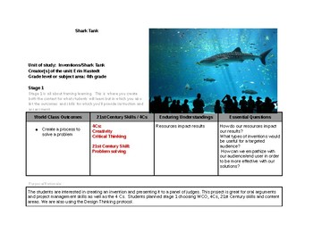 Shark Tank Project/Inventions