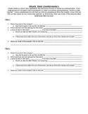 Shark Tank Questionnaire