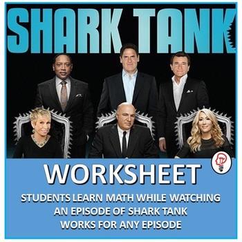 Shark Tank Worksheet