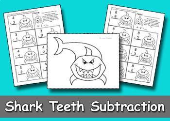 Shark Teeth Subtraction