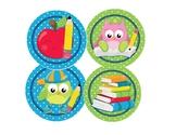 Owl School Theme Preschool, Kindergarten Banner