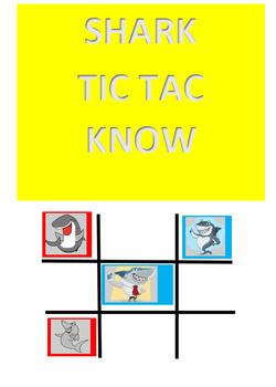 Shark Tic Tac KNOW