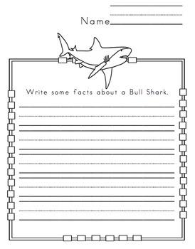 Shark Types Printable 2