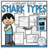 Shark Types Printable
