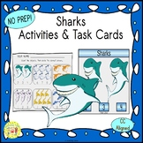 Sharks Activities and Task Cards