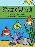Shark Week - Black and White Emergent Reader and Color Tea