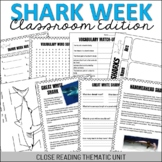 Shark Week Classroom Edition