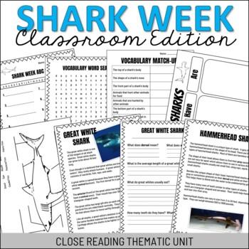 Shark Week Classroom Edition