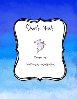 Shark Week Freebie #2 Contraction Concentration