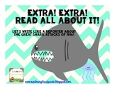 Shark Week Freebie: Extra! Extra! A Newspaper Writing Activity
