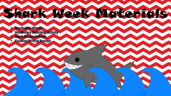 Shark Week Materials