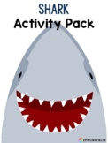 Shark Week Preschool - Kinder Activities