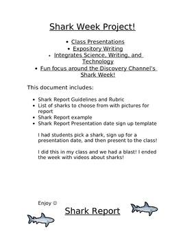 Shark Week Project