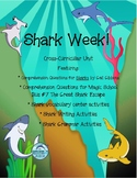 Shark Week Reading Unit featuring Sharks by Gail Gibbons
