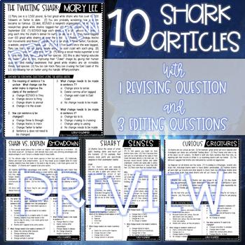 Shark Week Revising and Editing