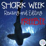 Shark Week Revising and Editing FREEBIE