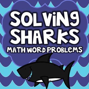 Shark Week - Shark Facts Math Word Problems