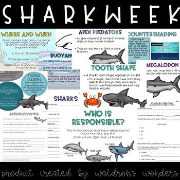 Shark Week Unit