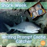 Story Starter: Shark Week Writing Prompt Cootie Catcher!