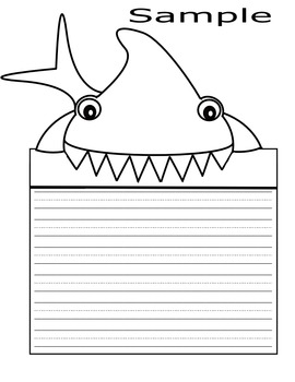 Shark Writing
