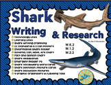 Shark Writing & Research Unit & Craftivity - Headbands - E