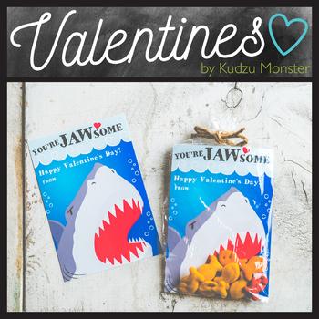 Shark You're JAWsome Valentine