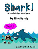 Shark!  a sight word game with a TWIST