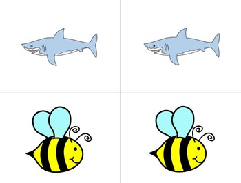Shark and Bee Letter and Number Games