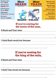 Shark vs Train Prediction Writing