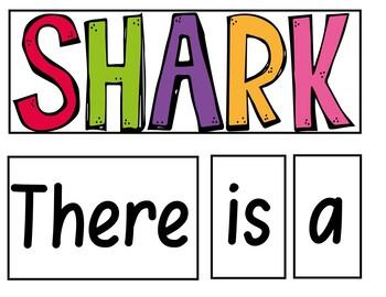 Shark was his name-o (A Pocket Chart Activity)