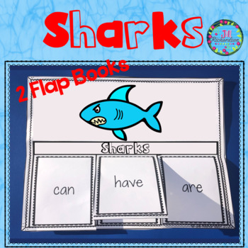 Sharks Foldable Activities and Fast Facts!