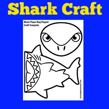 Shark Craft | Shark Activity | Sharks Unit | Shark Week Activity