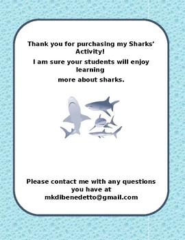 Sharks Activity