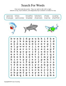 Sharks Activity Fun