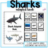 Sharks Adapted Reading Book- Perfect for Shark Week! #2for