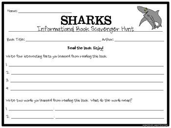 Sharks: An Informational Unit