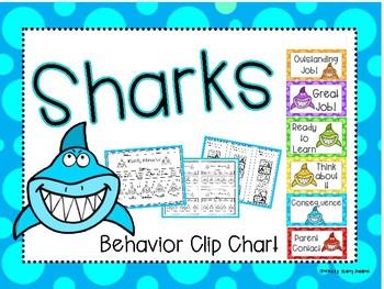 Sharks Behavior Clip Chart
