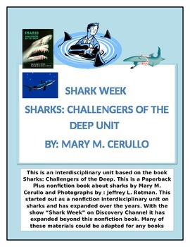 Sharks: Challengers of the Deep Interdisciplinary Unit