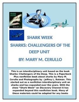 Sharks: Challengers of the Deep Interdisciplinary Unit