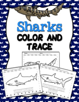 Sharks Color and Trace