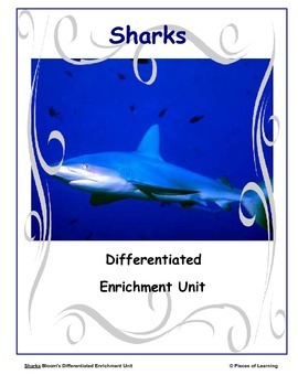 Sharks - Differentiated Blooms Enrichment Unit