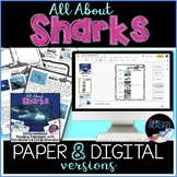 Sharks Differentiated *DIGITAL AND PAPER* Reading Comprehe