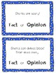 Sharks Fact and Opinion Center / Lesson