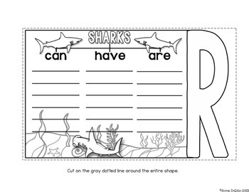 Sharks Flip Flap Book®