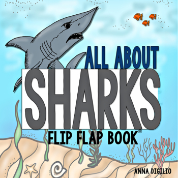 Sharks Flip Flap Book