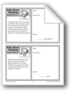 Sharks (Grade 4 Daily Word Problems-Week 25)
